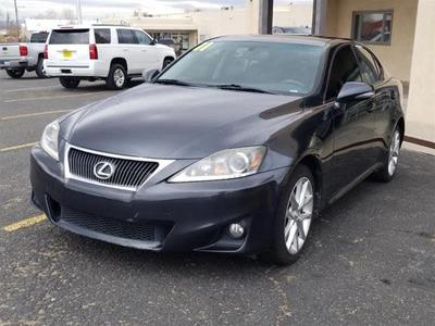 2011 Lexus IS 250 Base for sale VIN: JTHCF5C29B5050809