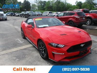 2018 Ford Mustang EcoBoost for sale VIN: 1FATP8UH4J5125035