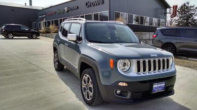 2018 Jeep Renegade Limited for sale VIN: ZACCJBDB6JPG95579