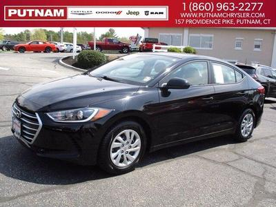 Hyundai Elantra 2018 for Sale in Putnam, CT