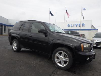 2007 Chevrolet TrailBlazer LT for sale VIN: 1GNDT13S372155028