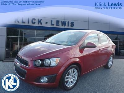 2012 Chevrolet Sonic 2LT for sale VIN: 1G1JC5SH4C4111099