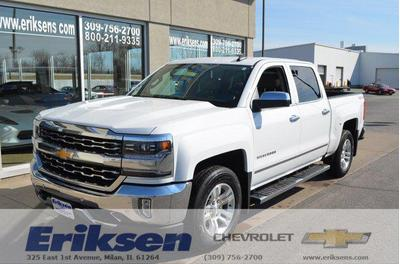 2016 Chevrolet Silverado 1500 LTZ for sale VIN: 3GCUKSEC3GG306528