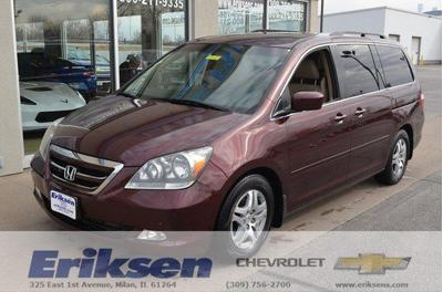 2007 Honda Odyssey Touring for sale VIN: 5FNRL38827B045544