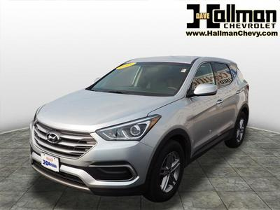 2018 Hyundai Santa Fe Sport 2.4L for sale VIN: 5XYZTDLB0JG527972