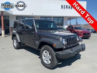 Jeep Wrangler JK Unlimited 2018 a la venta en Pittsfield, MA