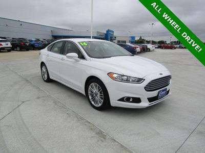 2016 Ford Fusion SE for sale VIN: 3FA6P0T96GR240671