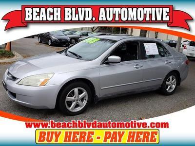 2005 Honda Accord LX for sale VIN: 3HGCM56445G710211