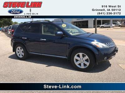 2006 Nissan Murano SL for sale VIN: JN8AZ08W56W523995