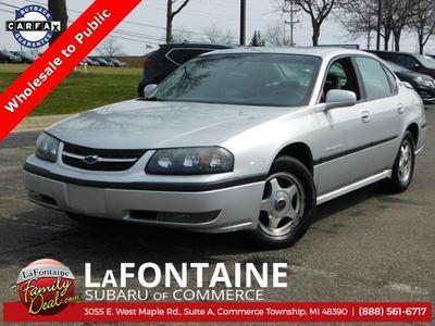 2002 Chevrolet Impala LS for sale VIN: 2G1WH55K729190276