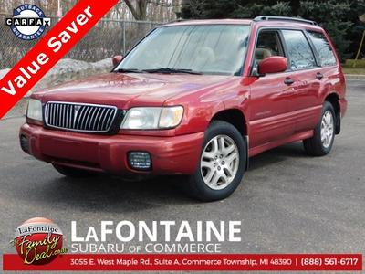 2002 Subaru Forester S for sale VIN: JF1SF65602H745302