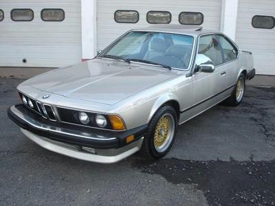 1986 BMW 635 CSi for sale VIN: WBAEC7402G0606908