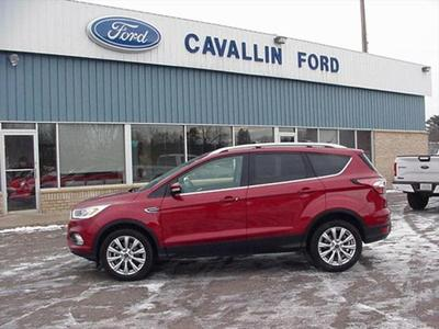 2018 Ford Escape Titanium for sale VIN: 1FMCU9J90JUC62187
