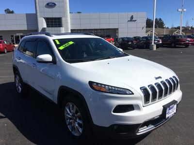 2015 Jeep Cherokee Limited for sale VIN: 1C4PJMDS6FW758767
