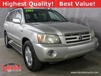 2004 Toyota Highlander  for sale VIN: JTEDP21A340003962