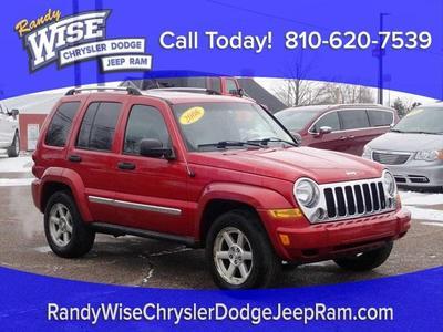 2006 Jeep Liberty Limited for sale VIN: 1J4GL58K06W148545