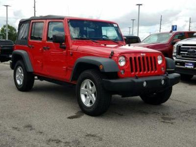 Jeep Wrangler Unlimited 2015 for Sale in Knoxville, TN