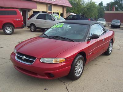 1997 Chrysler Sebring JX for sale VIN: 3C3EL45H7VT563225