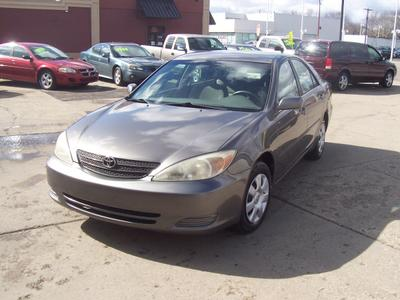 2003 Toyota Camry LE for sale VIN: 4T1BE32K03U735967