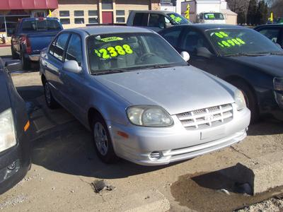 2004 Hyundai Accent GL for sale VIN: KMHCG45C64U523763