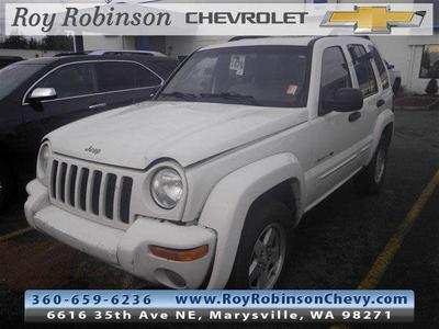 2002 Jeep Liberty Limited for sale VIN: 1J4GL58K42W321770
