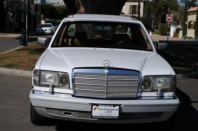 1991 Mercedes-Benz S-Class  for sale VIN: WDBCA39E8MA608101