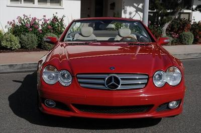 2007 Mercedes-Benz SL-Class  for sale VIN: WDBSK71F77F132323