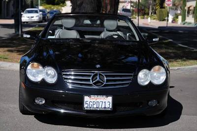 2003 Mercedes-Benz SL-Class SL500 for sale VIN: WDBSK75F43F048397
