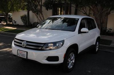 2013 Volkswagen Tiguan S for sale VIN: WVGAV3AX0DW588774