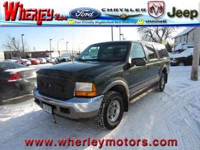2000 Ford Excursion Limited for sale VIN: 1FMSU43F7YED54063