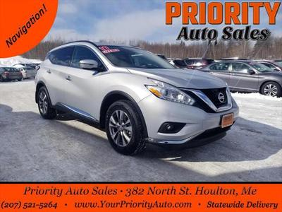 2017 Nissan Murano Platinum for sale VIN: 5N1AZ2MH7HN163910