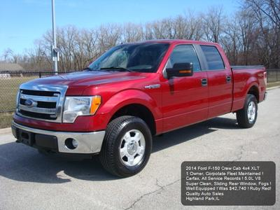 2014 Ford F-150 XLT for sale VIN: 1FTFW1EFXEFB02874