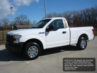 2015 Ford F-150 XL for sale VIN: 1FTMF1C84FKE53137