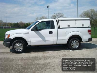 2014 Ford F-150 XL for sale VIN: 1FTMF1CMXEKD27974