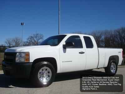 2012 Chevrolet Silverado 1500 Work Truck for sale VIN: 1GCRKPEA3CZ291900