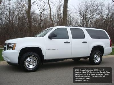 2009 Chevrolet Suburban 2500 LS for sale VIN: 1GNGK46K59R225507