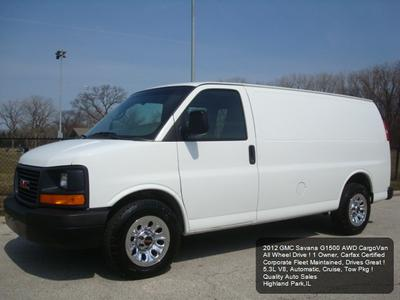 2012 GMC Savana 1500 Work Van for sale VIN: 1GTS8AF49C1133680