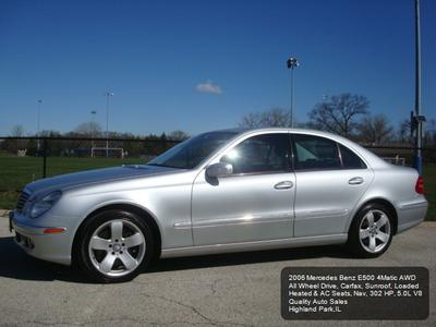 2006 Mercedes-Benz E-Class E500 4MATIC for sale VIN: WDBUF83J26X190949