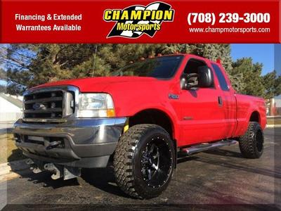 2004 Ford F-250 XLT SuperCab Super Duty for sale VIN: 1FTNX21P44EB40456