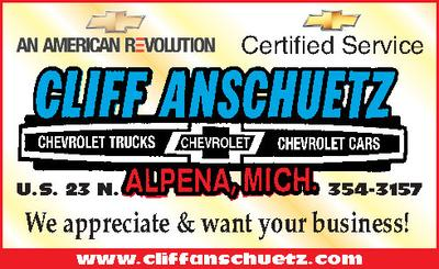 cliff anschuetz chevrolet inc in alpena including address phone dealer reviews directions a map inventory and more newcars com