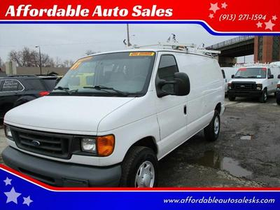 2007 Ford E250  for sale VIN: 1FTNE24W67DA26154