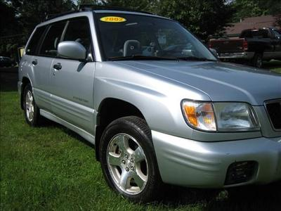2002 Subaru Forester S for sale VIN: JF1SF65622H759184