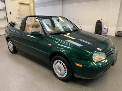 2001 Volkswagen Cabrio GLS for sale VIN: 3VWCC21V21M808646