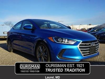 Ourisman Hyundai Laurel >> Used 2018 Hyundai Elantra Sel Sedan In Laurel Md Auto Com 5npd84lf2jh284222