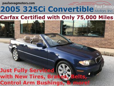 2005 BMW 325 Ci for sale VIN: WBABW33475PL36635