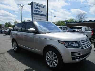 2016 Land Rover Range Rover 3.0L Supercharged HSE for sale VIN: SALGS2VF2GA272998