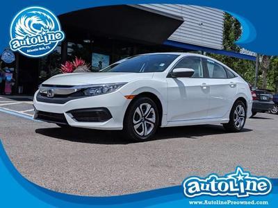 2018 Honda Civic LX for sale VIN: 19XFC2F55JE026392