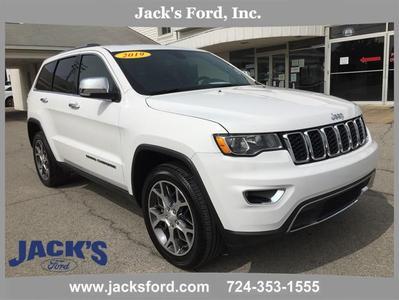 Jeep Grand Cherokee 2019 a la venta en Sarver, PA