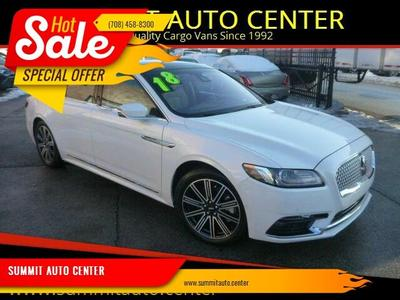Lincoln Continental 2018 for Sale in Summit Argo, IL
