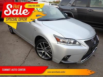 Lexus CT 200h 2016 for Sale in Summit Argo, IL